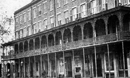 The Marshall House Savannah historic hotel, c. 1899