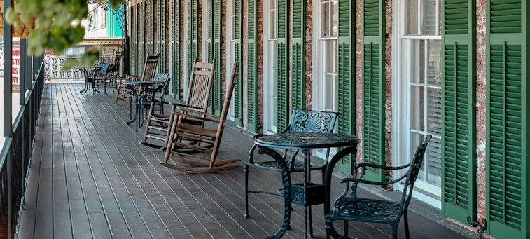 Broughton Balcony King room at Marshall House