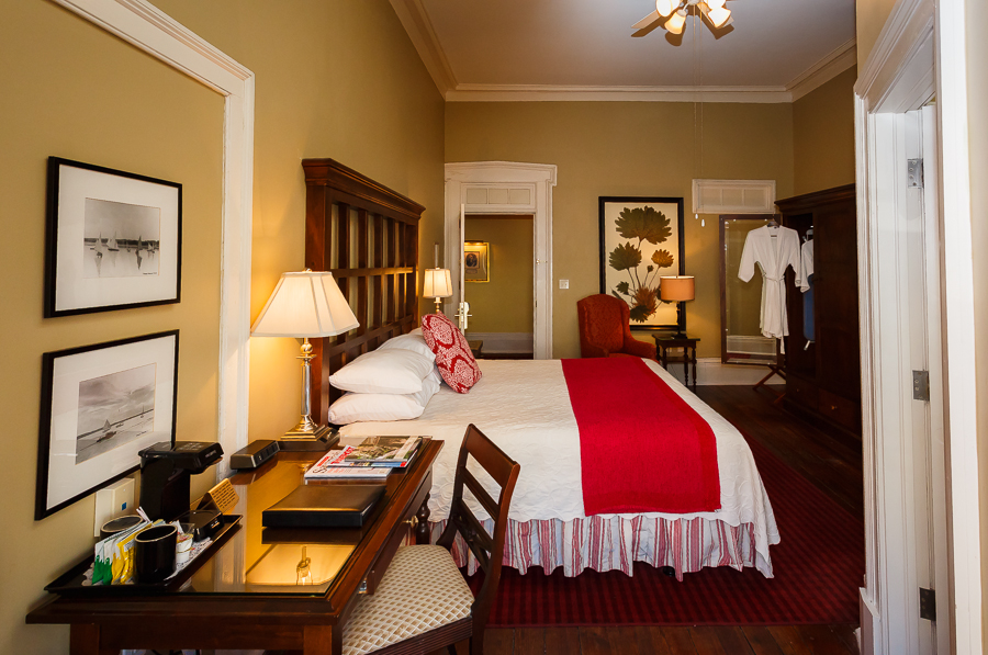 Luxury Hotel Rooms with Balcony in Savannah