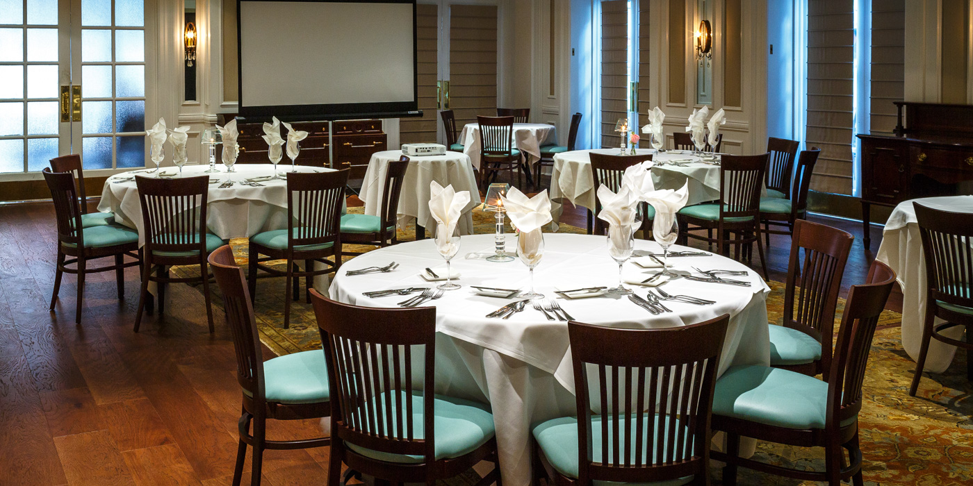 Meeting and Event Space in Savannah at The Marshal House Savannah