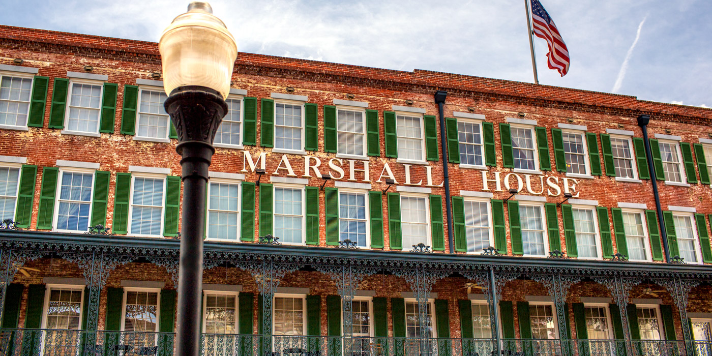 Savannah Hotel Reviews for The Marshal House