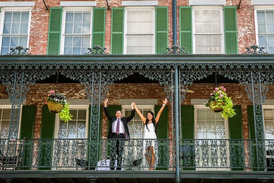 Marshall House Savannah Wedding