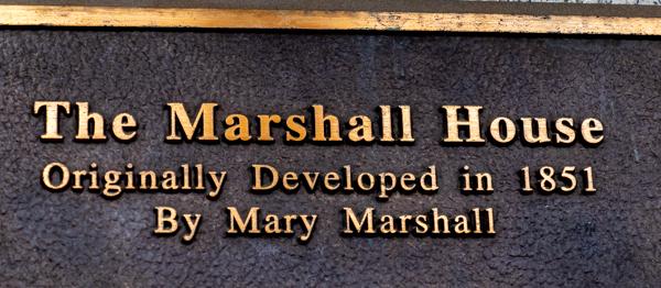 Marshall House historic hotel Savannah, GA