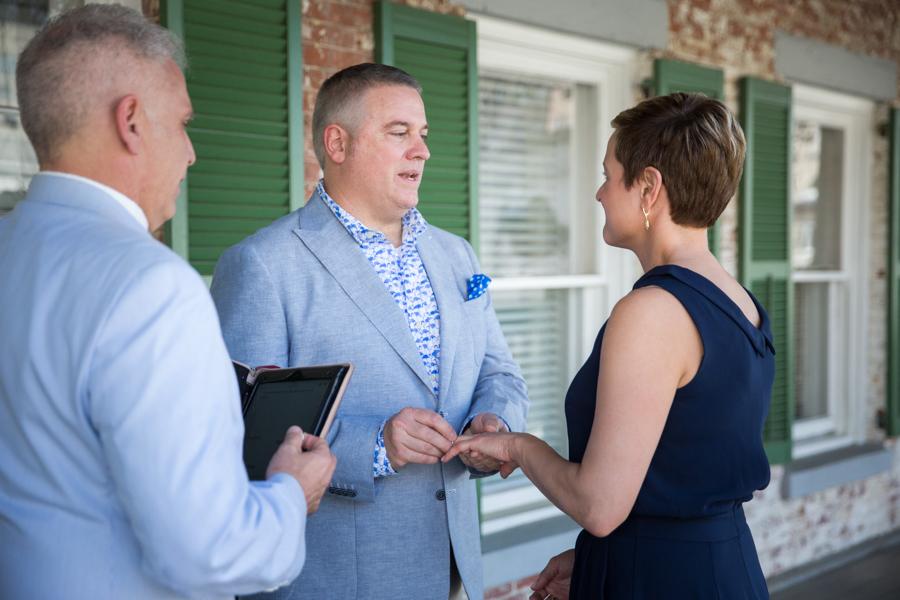 Marshall House Savannah wedding
