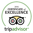 The Marshall House won TripAdvisor's 2016 Certificate of Excellence