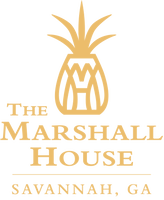 Logo For The Marshall House Hotel in Savannah, GA