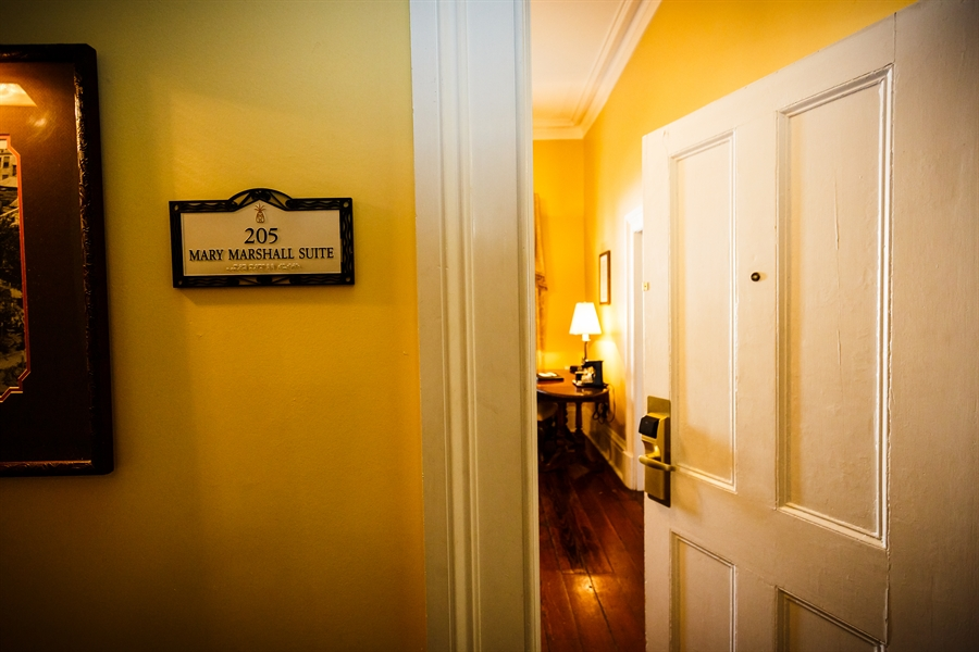 The exclusive Luxury Mary Marshall Suite with Balcony Access.