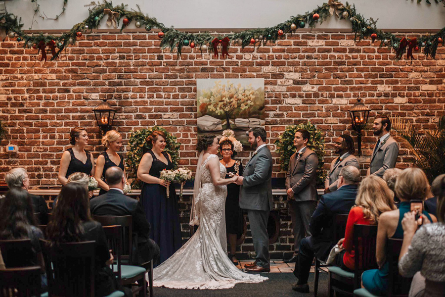 Savannah wedding at The Marshall House
