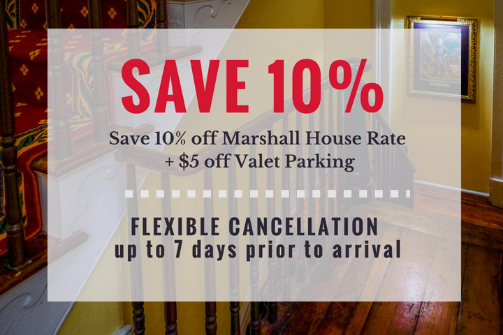 Discount Parking Special at our Savannah Hotel